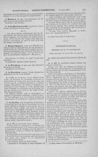 Tome 24 : Du 10 mars au 12 avril 1791 - page 151