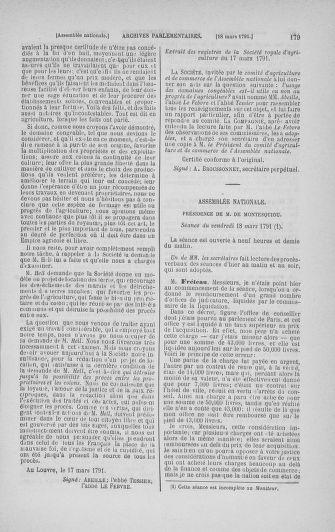 Tome 24 : Du 10 mars au 12 avril 1791 - page 179