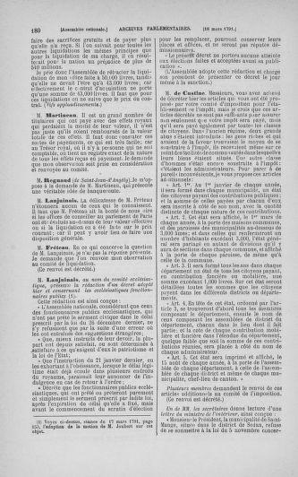Tome 24 : Du 10 mars au 12 avril 1791 - page 180