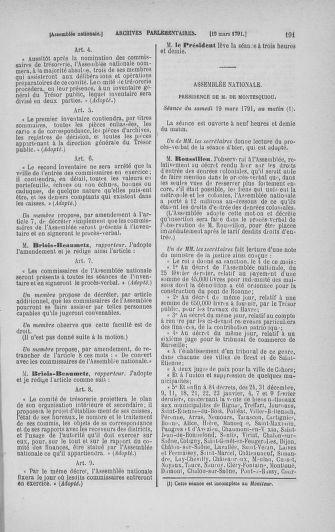 Tome 24 : Du 10 mars au 12 avril 1791 - page 191
