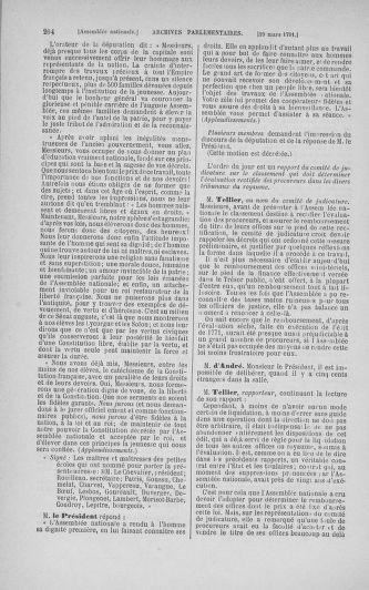 Tome 24 : Du 10 mars au 12 avril 1791 - page 204