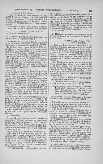Tome 24 : Du 10 mars au 12 avril 1791 - page 221