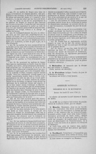 Tome 24 : Du 10 mars au 12 avril 1791 - page 235