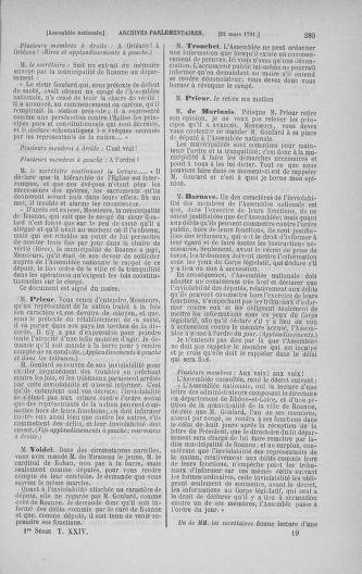 Tome 24 : Du 10 mars au 12 avril 1791 - page 289