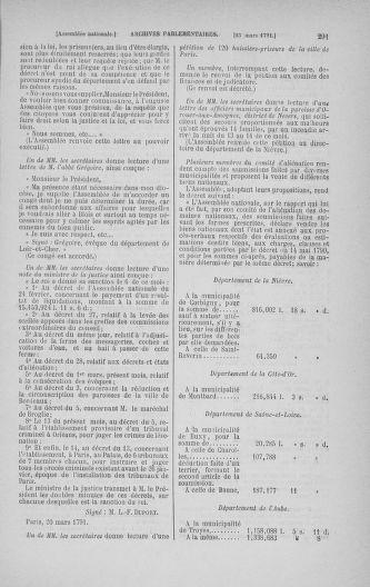 Tome 24 : Du 10 mars au 12 avril 1791 - page 291