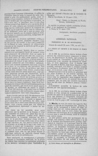 Tome 24 : Du 10 mars au 12 avril 1791 - page 397