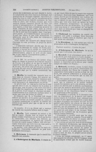 Tome 24 : Du 10 mars au 12 avril 1791 - page 398