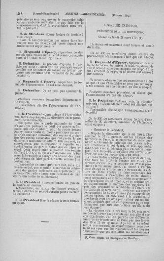 Tome 24 : Du 10 mars au 12 avril 1791 - page 418