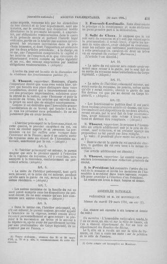 Tome 24 : Du 10 mars au 12 avril 1791 - page 451