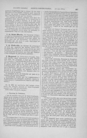 Tome 24 : Du 10 mars au 12 avril 1791 - page 463