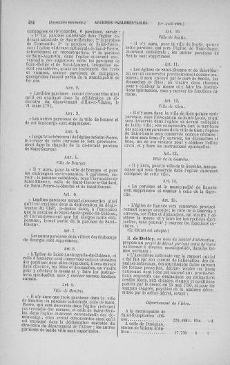 Tome 24 : Du 10 mars au 12 avril 1791 - page 494