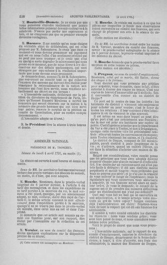 Tome 24 : Du 10 mars au 12 avril 1791 - page 538