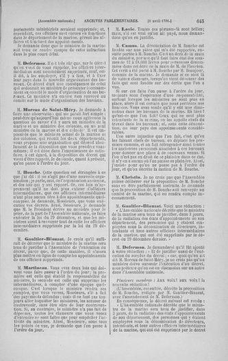 Tome 24 : Du 10 mars au 12 avril 1791 - page 645