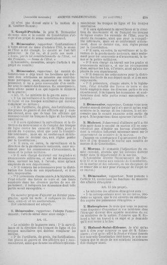 Tome 24 : Du 10 mars au 12 avril 1791 - page 699