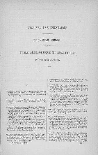 Tome 24 : Du 10 mars au 12 avril 1791 - page ..