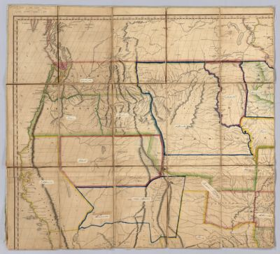 A Map Of The United States And British Provinces Of Upper And - 1823 us map