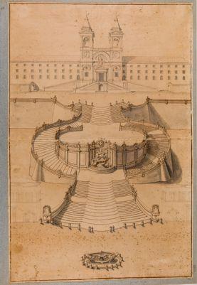 Progetto della scalinata di Trinità dei Monti