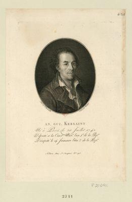 An. Gui. Kersaint né à Paris le 20 juillet 1742, député à la Conv.on nat.le l'an 1.er de la Rep.que, décapité le 14 frimaire l'an 2 de la Rep.que. : [estampe]