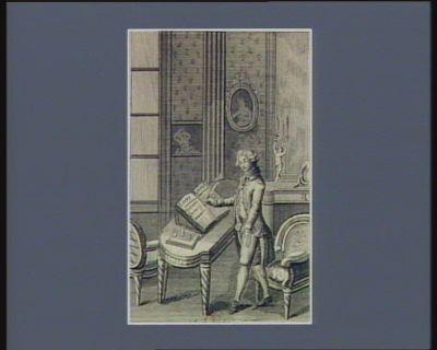 Trait de patriotisme de Charles Lameth. séance du 14 fevrier 1791 malgré la censure ; les actions honorables des hommes ne sauraient jamais être trop connues, ne fussent que pour l'exemple : [estampe]