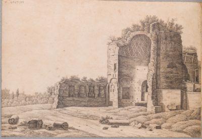 Abside del Tempio Venere e Roma
