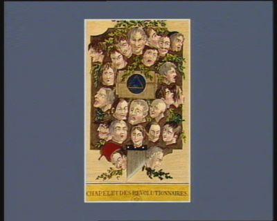Chapelet des révolutionnaires tableau d'histoire naturelle du diable. Avis aux intriguans... : [estampe]