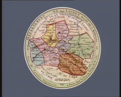 Departement du Loiret divisé en 7 districts : [estampe]