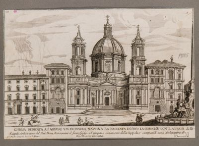 Chiesa dedicata a S. Agnese V.M. in piazza Navona