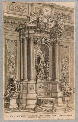 Chiesa del Gesù, altare di S. Ignazio