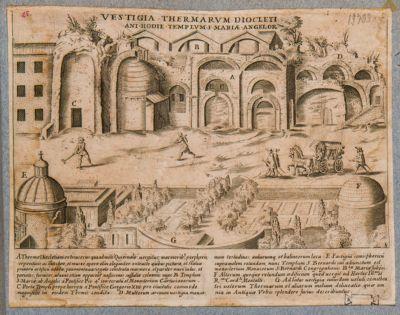 Vestigia delle terme di Diocleziano