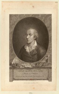 Jean Marie Roland ministre de l'intérieur né le 19 février 1734 à Thizy en Beaujolais, département du Rhone et Loire : [estampe]