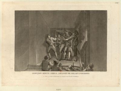 Geoffroy arrete Amiral assassin de Collot d'Herbois [estampe]