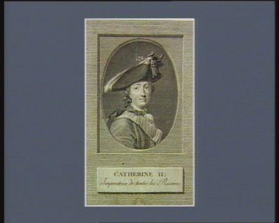 Catherine II imperatrice de toutes les Russies : [estampe]