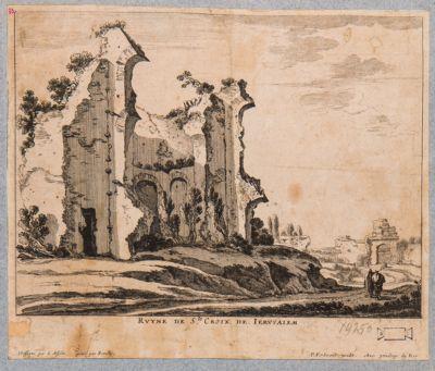 Ruine de S. Croix de Jerusalem