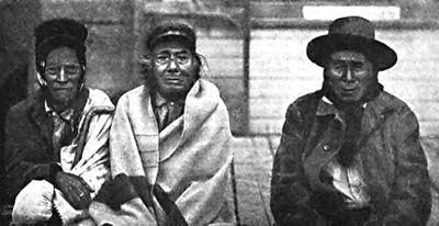 Blackfeet men