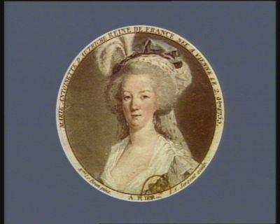 Marie Antoinette d'Autriche reine de France née à Vienne le 2 9.bre 1755 [estampe]