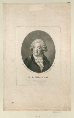 H.G. Mirabeau [estampe]