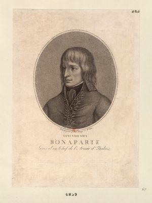 Veni vidi vici Bonaparte general en chef de l'armée d'Italie [estampe]