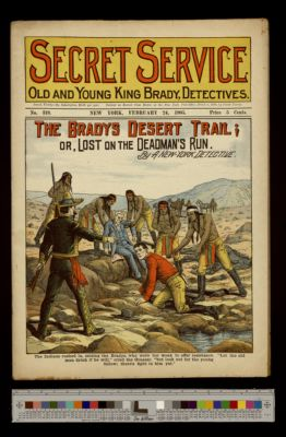 The Bradys Desert Trail; or, Lost on the Deadman's Run