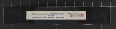 25th Anniversary of the DENDRAL Project--Feigenbaum, Smith, Carhart, Sutherland--Session #1