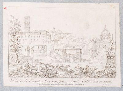 Foro Romano, panorama nord