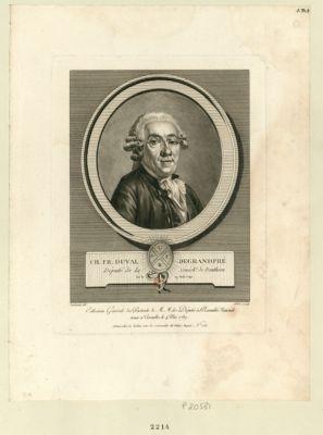 Ch.Fr. Duval Degrandpré député de la sénéch.ée de Ponthieu, né le 19 août 1740 : [estampe]