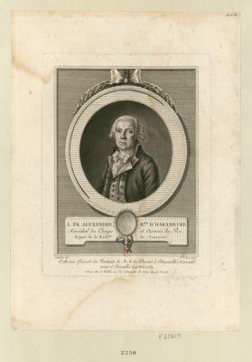 L.Fr. Alexandre, b.on d'Harambure maréchal des camps et armées du Roi, député de la nobl.se de Touraine : [estampe]