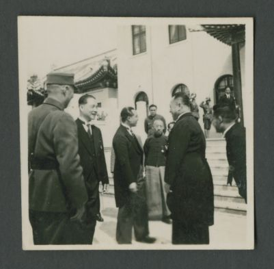Wang Jingwei meets Lü Ronghuan
