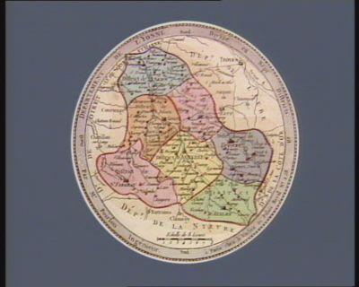 Departement de l'Yonne divisé en sept districts : [estampe]