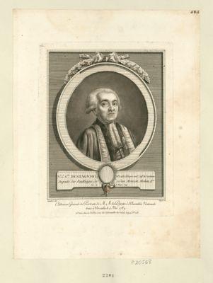 N.s L.s c.te Destagniol, g.d bailli d'épée, anc.n cap.ne de cavalerie deputé des baillages de Sedan, Mouzon, Mohon, &.a, né le 8 mars 1741 : [estampe]