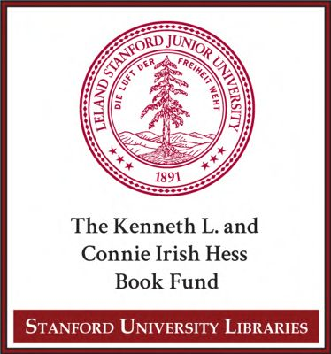 The Kenneth L. and Connie Irish Hess Book Fund
