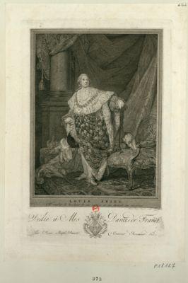 Louis seize il voulut le bonheur de sa nation et en devint la victime : dédié à Mes Dames de France par Jean Bapt.e Dasori... : [estampe]