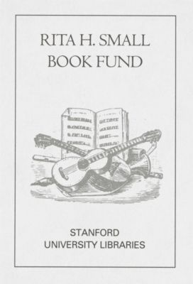 Rita H. Small Book Fund