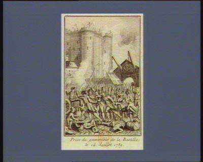 Prise du gouverneur de la Bastille le 14 juillet 1789 [estampe]