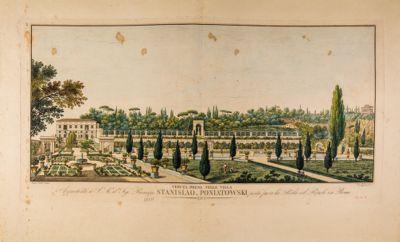 Villa Poniatowscki, veduta generale